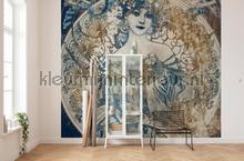 Porcelaine fotobehang Komar Kunst Ambiance