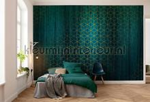 Mystique vert fotobehang Komar York Wallcoverings