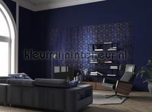 Mystique bleu fotobehang Komar Grafisch Abstract