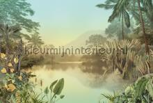 Lac tropical papier murales Komar PiP studio wallpaper