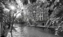 Utrecht Oude Gracht photomural Noordwand Holland 1404