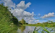 Kromme Rijn 3 photomural Noordwand Holland 3288