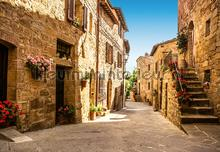Tuscany Village fotomurales Ideal Decor oferta
