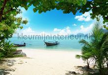 phi phi island fotobehang Ideal Decor Ideal-Decor Poster 00158