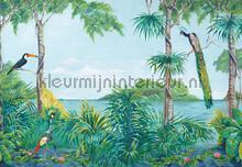 blue lagoon fotobehang Ideal Decor Ideal-Decor Vlies 00974