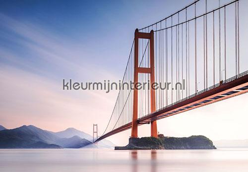 Xihou bridge fotobehang 00972 aanbieding fotobehang Ideal Decor
