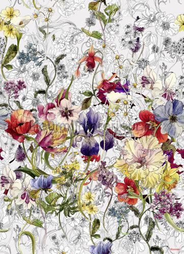 flora fotobehang 4-201 Imagine Edition 3 Stories Komar