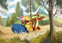 Pooh on a walk photomural AG Design Kidz wall collection FTDN-XXL-5013