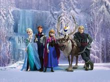 Frozen all together photomural AG Design Kidz wall collection FTDN-XXL-5037