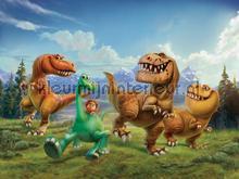 Little dinosaur fotobehang AG Design kinderkamer jongens