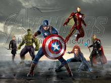 Marvel comics photomural AG Design Kidz wall collection FTDN-XXL-5048