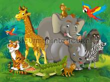 Jungle formatie photomural AG Design Kidz wall collection FTN-XXL-2420