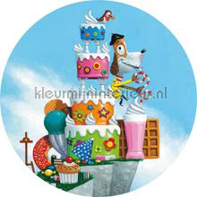 mister renny fototapeten Kek Amsterdam Kinder Behangcirkels ck-037