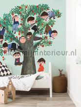 Apple Tree photomural Kek Amsterdam Kinderbehang WS-030