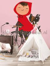 Riding my Bike fotomurales WS-037 Kinderbehang Kek Amsterdam