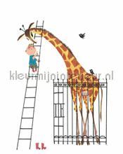 Giant Giraffe photomural Kek Amsterdam Kinderbehang WS-040