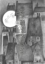 Fotobehang Moonlight photomural Kek Amsterdam Kinderbehang WS-048