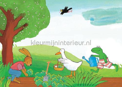Kikker Vegetable Garden fotomurales WS-064 Kinderbehang Kek Amsterdam