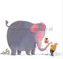 Concrete Elephant papier peint Kek Amsterdam Kinderbehang WS-082
