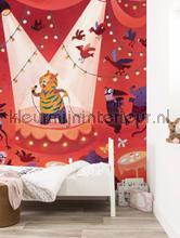 Karaoke Tiger papier peint Kek Amsterdam Kinderbehang WS-088