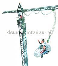Crane Driver photomural Kek Amsterdam Kinderbehang WS-090