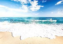 Sea ans beach fotobehang Kleurmijninterieur Zon Zee Strand