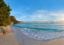 Sea fotobehang Kleurmijninterieur Zon Zee Strand