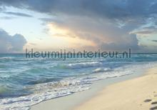 Blue sea and natural beach photomural Kleurmijninterieur all-images