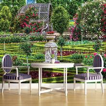 Park garden fotobehang Kleurmijninterieur Bloemen Planten