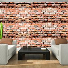 Brick relief wall fototapeten Kleurmijninterieur weltkarten