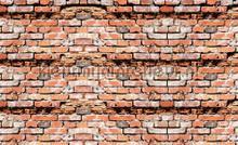 Brick relief wall papier murales Kleurmijninterieur structures