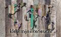 Worldmap scrapwood papier murales Kleurmijninterieur structures