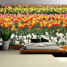 Dutch tulips fotobehang Kleurmijninterieur Bloemen Planten