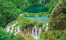 Big waterfalls fototapet Kleurmijninterieur verdenskort