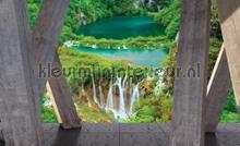 View on falls fototapeten Kleurmijninterieur weltkarten
