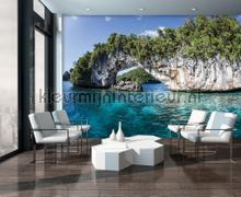 Blue lagoon fototapeten Kleurmijninterieur alle-bilder