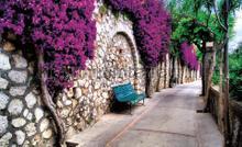 Romantic alley fototapeten Kleurmijninterieur alle-bilder
