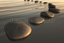 Stones on the water papier murales Kleurmijninterieur PiP studio wallpaper
