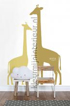 giraffen okergeel photomural 153-158925 animals Esta for Kids