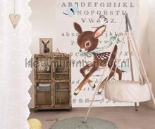 Hertje alfabet fotobehang Onszelf Little Wallpaper OZP-3751