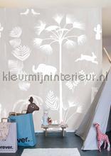 Dierenverhaaltje grijs fotobehang Onszelf Little Wallpaper OZP-3755
