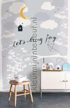 Lets bring joy fotobehang Onszelf Little Wallpaper OZP-3765