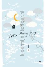 Lets bring joy fotobehang Onszelf Little Wallpaper OZP-3767
