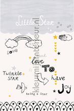 Little star fotobehang Onszelf Little Wallpaper OZP-3776