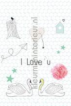 I love u fotobehang Onszelf Little Wallpaper OZP-3777