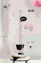 Animal talk fotobehang Onszelf Little Wallpaper OZP-3778