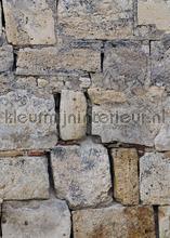 Natuursteen muur met grote blokken fototapeten Behang Expresse weltkarten