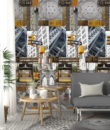 Aspects of NY papier murales ak1035 Moderne - Résumé Behang Expresse