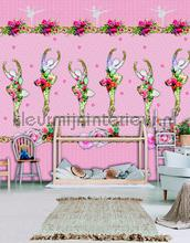 Romantic ballerina papier murales Behang Expresse Looks ak1037