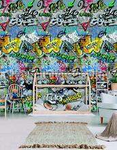 Graffity bespoten muur papier murales Behang Expresse structures